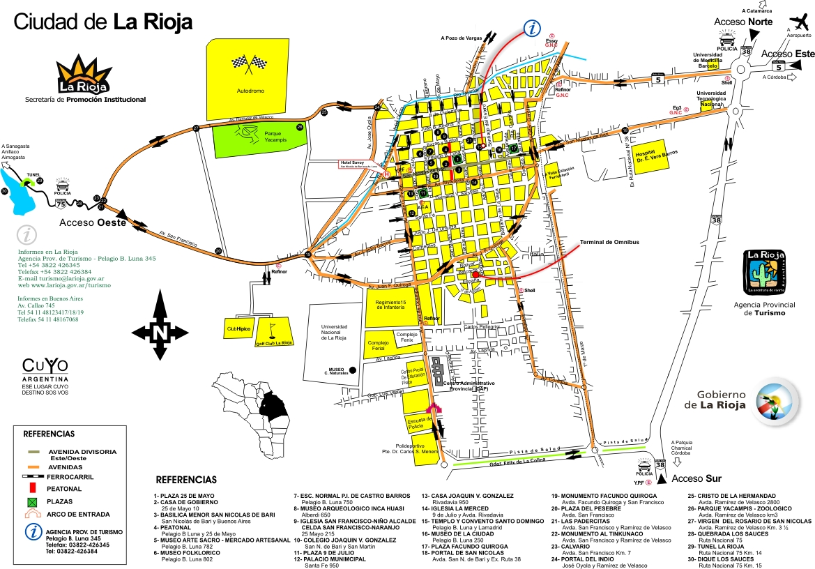 Hotel savoy la rioja argentina for Hoteles de diseno en la rioja